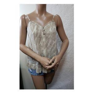 Princess vera wang sleeveless shirt size S